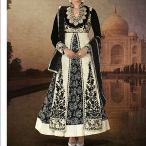 4 piece Pretty Indian Anarkali